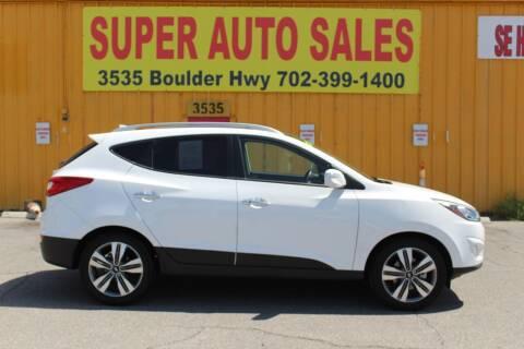 2015 Hyundai Tucson for sale at Super Auto Sales in Las Vegas NV