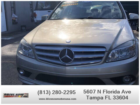 2010 Mercedes-Benz C-Class for sale at Drive Now Motors USA in Tampa FL