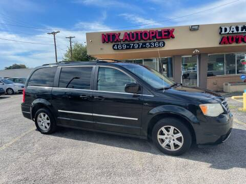 2010 Chrysler Town and Country for sale at NTX Autoplex in Garland TX