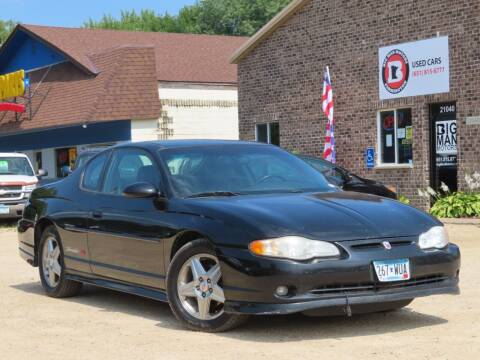 2004 Chevrolet Monte Carlo for sale at Big Man Motors in Farmington MN