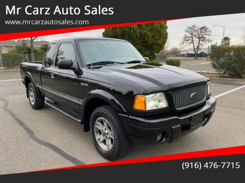 2003 Ford Ranger for sale at Mr Carz Auto Sales in Sacramento CA