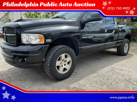 2004 Dodge Ram Pickup 1500 for sale at Philadelphia Public Auto Auction in Philadelphia PA