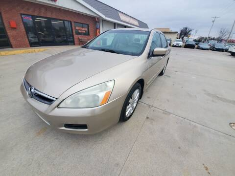 2007 Honda Accord for sale at Eden's Auto Sales in Valley Center KS