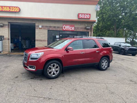 2014 GMC Acadia for sale at KING AUTO SALES  II in Detroit MI