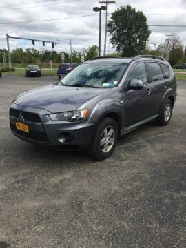 2010 Mitsubishi Outlander for sale at Hamburg Motors in Hamburg NY