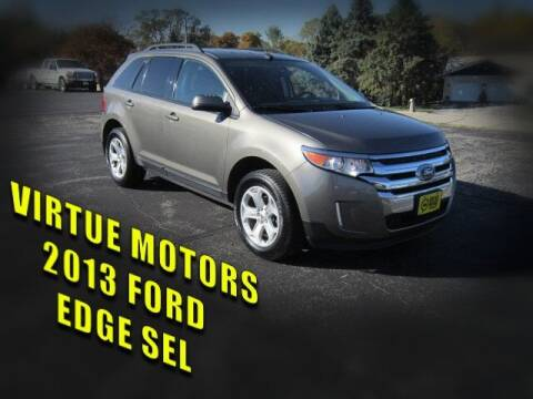 2013 Ford Edge for sale at Virtue Motors in Darlington WI
