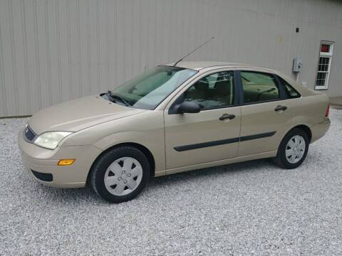 2006 Ford Focus for sale at Doyle's Auto Sales and Service in North Vernon IN