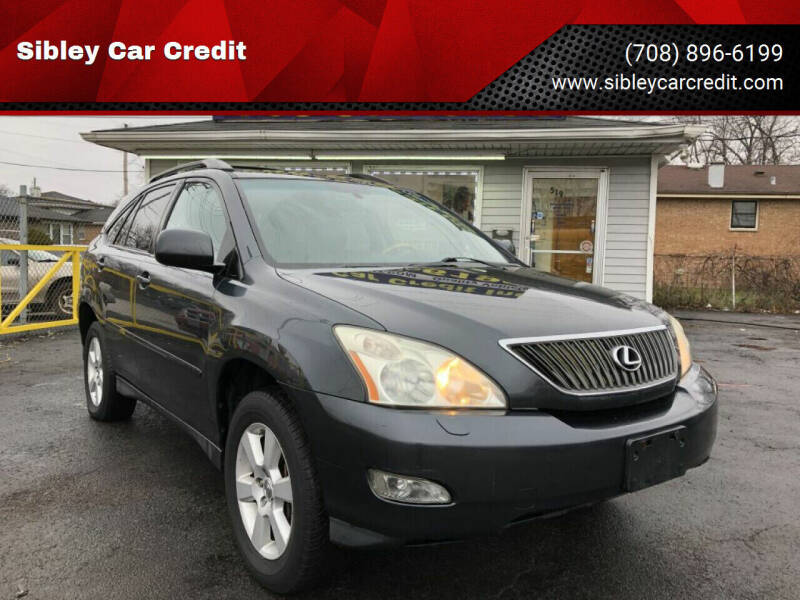 2007 Lexus RX 350 for sale at Sibley Car Credit in Dolton IL