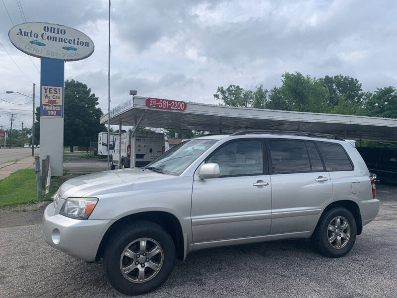 2005 Toyota Highlander for sale at Ohio Auto Connection Inc in Maple Heights OH