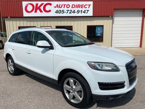 2012 Audi Q7 for sale at OKC Auto Direct in Oklahoma City OK