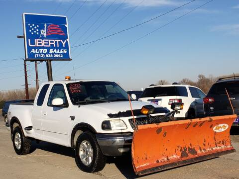 2003 Ford F-150 for sale at Liberty Auto Sales in Merrill IA