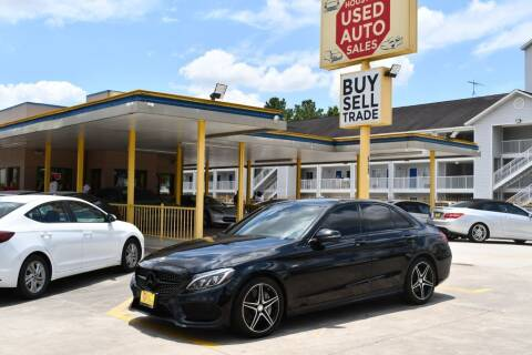 2016 Mercedes-Benz C-Class for sale at Houston Used Auto Sales in Houston TX