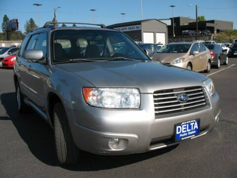 2006 Subaru Forester for sale at Delta Auto Sales in Milwaukie OR