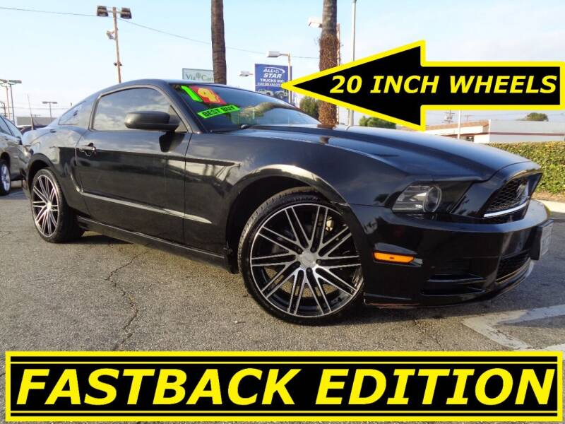 2014 Ford Mustang for sale at ALL STAR TRUCKS INC in Los Angeles CA
