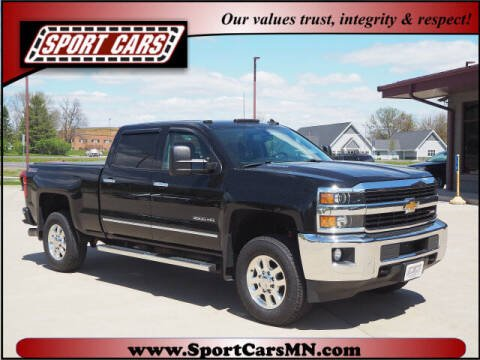 2015 Chevrolet Silverado 3500HD for sale at SPORT CARS in Norwood MN