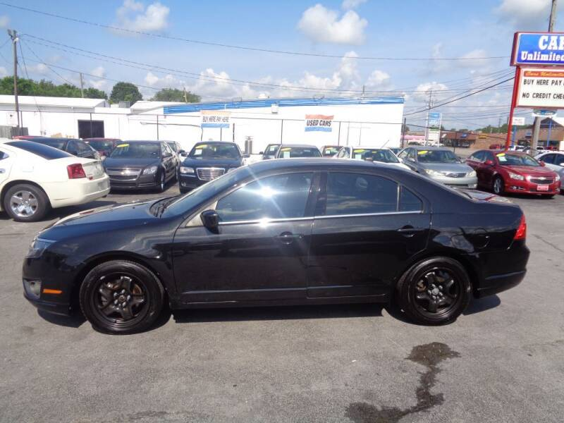 2011 Ford Fusion for sale at Cars Unlimited Inc in Lebanon TN