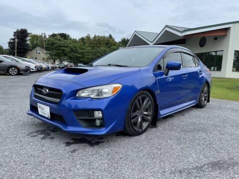 2017 Subaru WRX for sale at Williston Economy Motors in South Burlington VT
