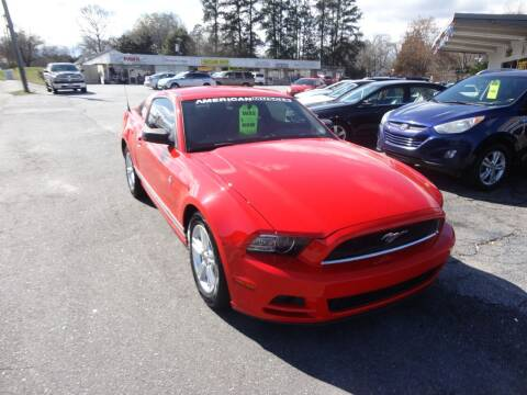 2014 Ford Mustang for sale at HAPPY TRAILS AUTO SALES LLC in Taylors SC