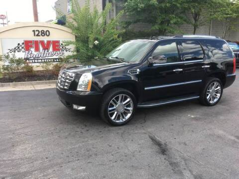 2012 Cadillac Escalade for sale at Five Brothers Auto Sales in Roswell GA