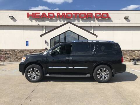 2015 Nissan Armada for sale at Head Motor Company - Head Indian Motorcycle in Columbia MO