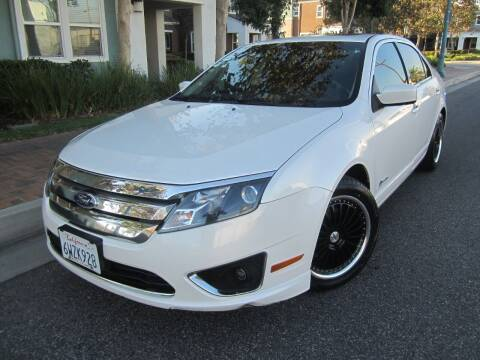 2012 Ford Fusion Hybrid for sale at PREFERRED MOTOR CARS in Covina CA