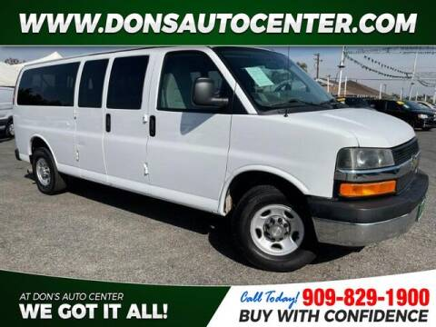 2014 Chevrolet Express Passenger for sale at Dons Auto Center in Fontana CA