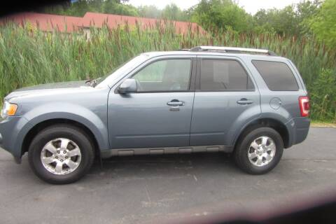 2012 Ford Escape for sale at Burgess Motors Inc in Michigan City IN