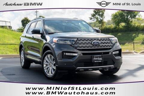 2020 Ford Explorer for sale at Autohaus Group of St. Louis MO - 3015 South Hanley Road Lot in Saint Louis MO
