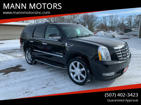 2011 Cadillac Escalade for sale at MANN MOTORS in Albert Lea MN