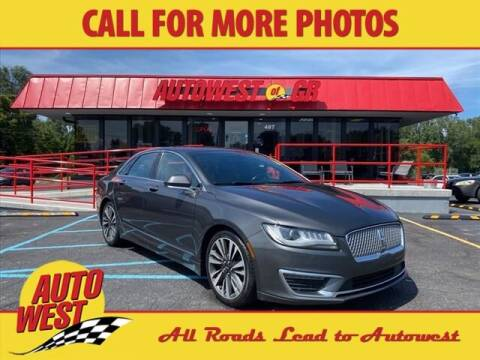 2017 Lincoln MKZ for sale at Autowest of GR in Grand Rapids MI