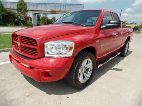 2007 Dodge Ram Pickup 1500 for sale at SARCO ENTERPRISE inc in Houston TX