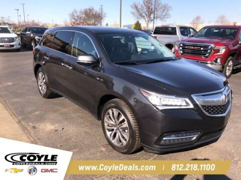 2016 Acura MDX for sale at COYLE GM - COYLE NISSAN in Clarksville IN