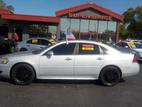 2012 Chevrolet Impala for sale at Super Service Used Cars in Milwaukee WI