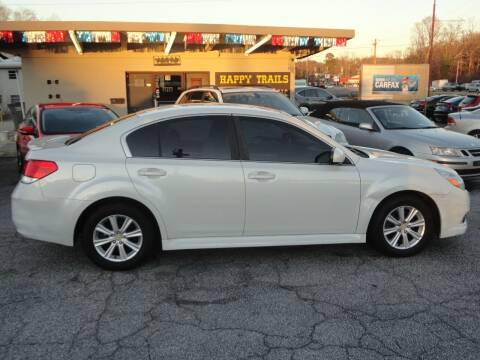 2012 Subaru Legacy for sale at HAPPY TRAILS AUTO SALES LLC in Taylors SC