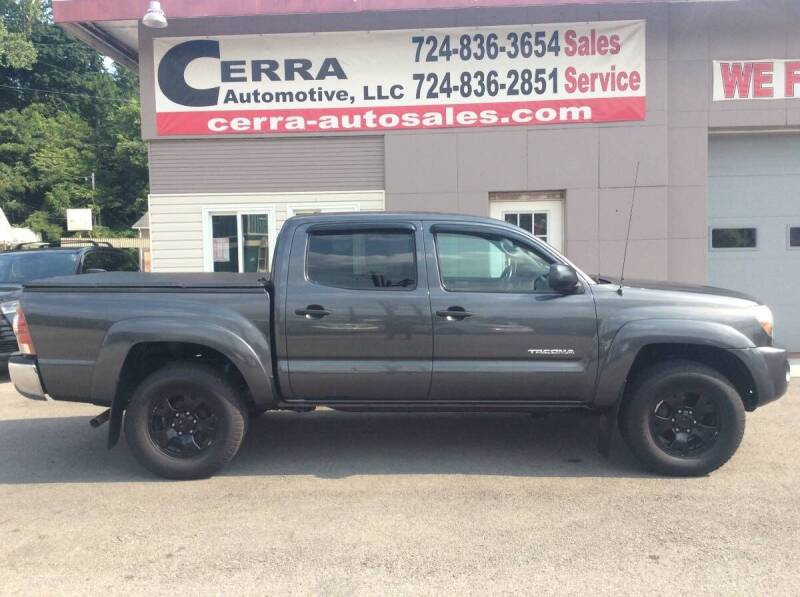 2010 Toyota Tacoma for sale at Cerra Automotive LLC in Greensburg PA