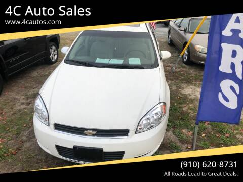 2008 Chevrolet Impala for sale at 4C Auto Sales in Wilmington NC