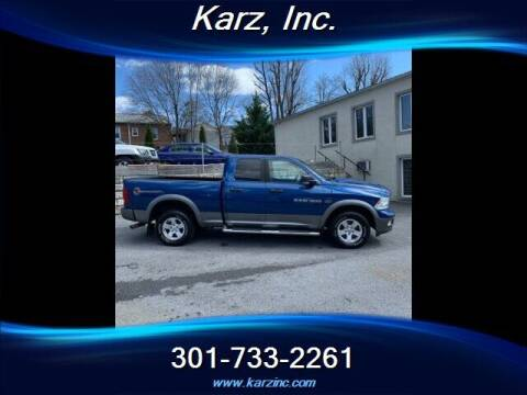 2011 RAM Ram Pickup 1500 for sale at Karz INC in Funkstown MD