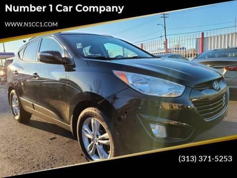 2013 Hyundai Tucson for sale at Number 1 Car Company II in Detroit MI