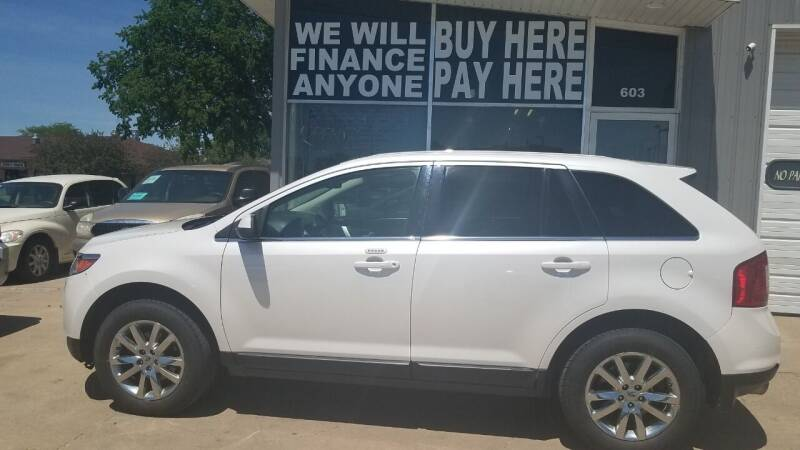 2013 Ford Edge for sale at STERLING MOTORS in Watertown SD