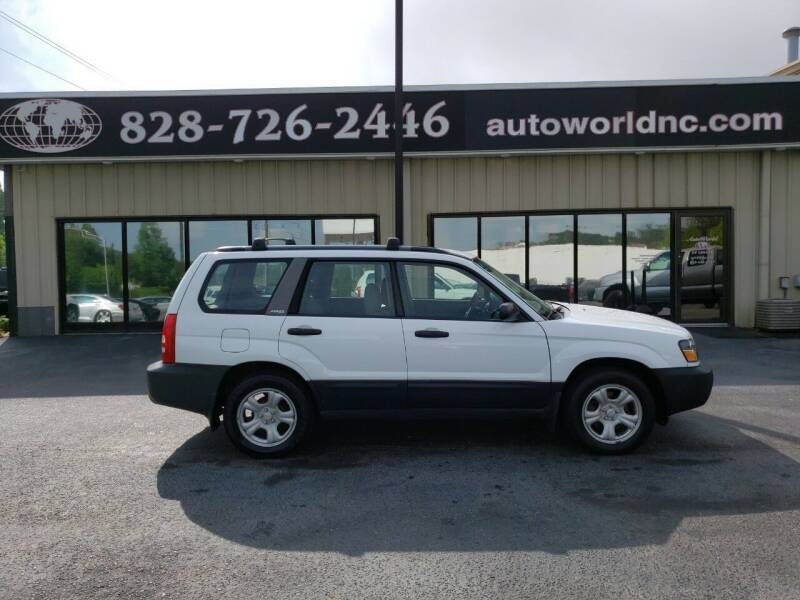 2003 Subaru Forester for sale at AutoWorld of Lenoir in Lenoir NC