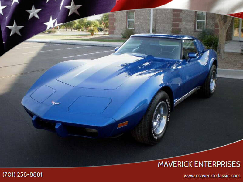 1977 Chevrolet Corvette for sale at Maverick Enterprises in Pollock SD