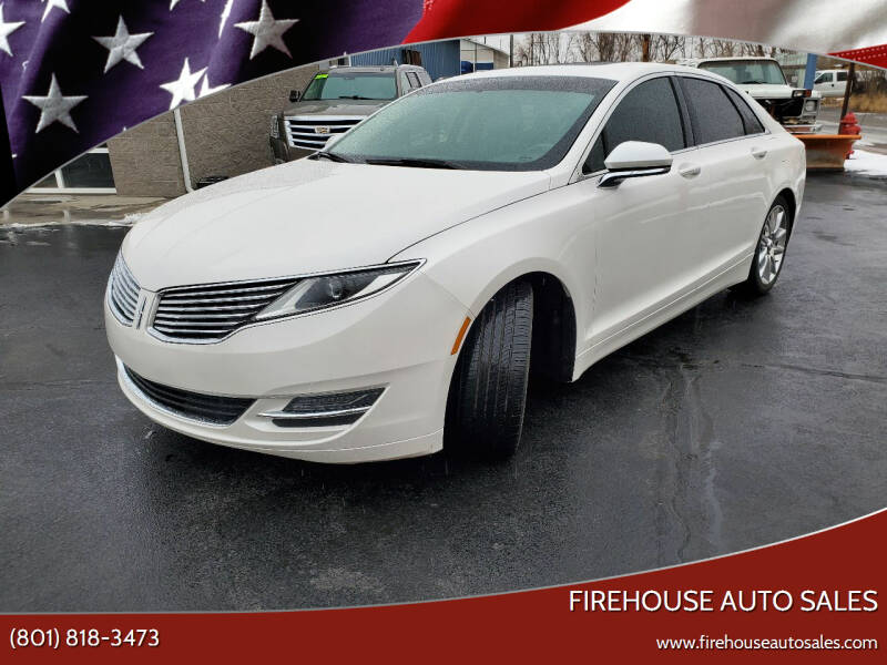 2015 Lincoln MKZ Hybrid for sale at Firehouse Auto Sales in Springville UT