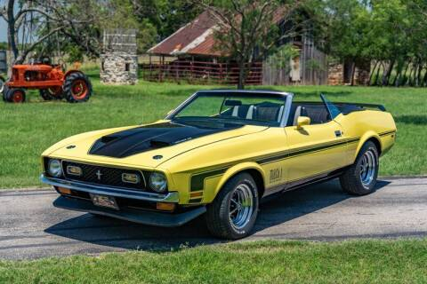 1971 Ford Mustang for sale at STREET DREAMS TEXAS in Fredericksburg TX