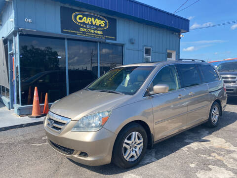 2006 Honda Odyssey for sale at CAR VIPS ORLANDO LLC in Orlando FL