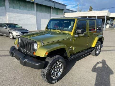 2007 Jeep Wrangler Unlimited for sale at TacomaAutoLoans.com in Tacoma WA