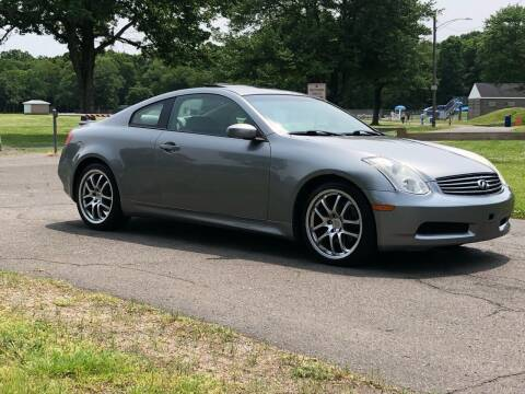 2006 Infiniti G35 for sale at Choice Motor Car in Plainville CT