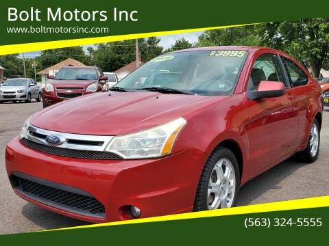2009 Ford Focus for sale at Bolt Motors Inc in Davenport IA