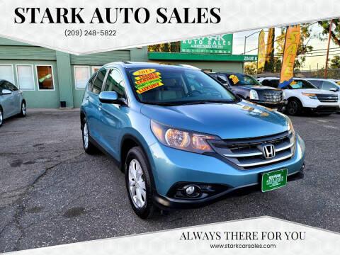 2013 Honda CR-V for sale at Stark Auto Sales in Modesto CA