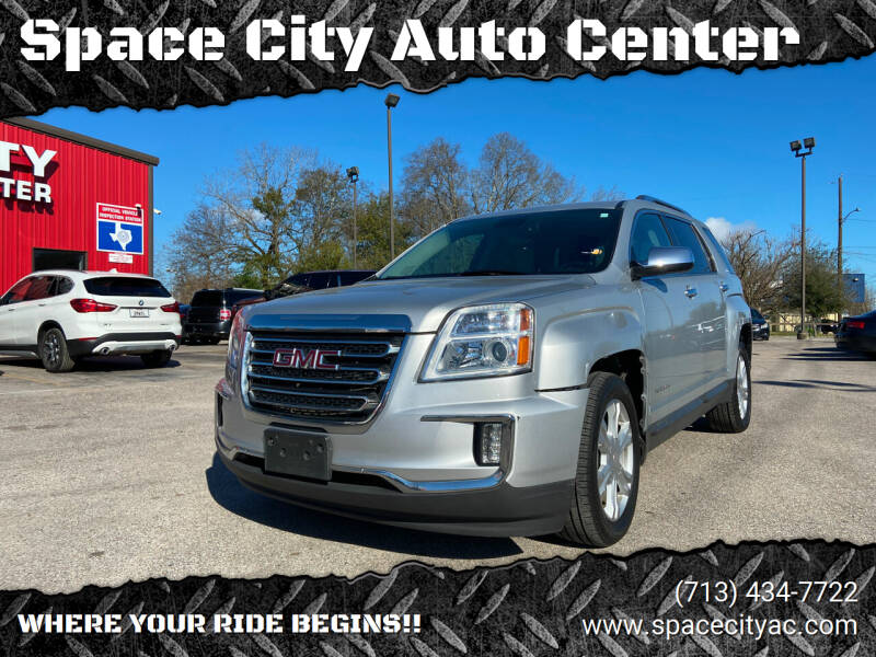 2016 GMC Terrain for sale at Space City Auto Center in Houston TX