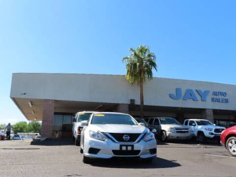 2016 Nissan Altima for sale at Jay Auto Sales in Tucson AZ